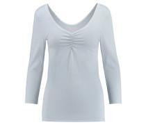 Damen Shirt 3/4-Arme, Blau