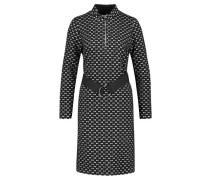 Damen Jerseykleid, schwarz
