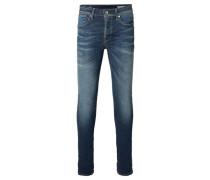 Herren Jeans One Fabios Skinny Fit, Blau