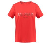 Damen T-Shirt, rot