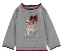 Mädchen Baby Pullover, Grau