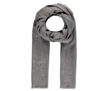 Damen Woll-Schal, grau