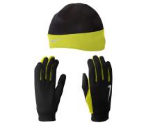 Herren Running Set - Beanie und Handschuhe Gr. MXLS