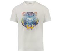 Herren T-Shirt Kurzarm, Weiß