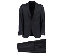 Herren Anzug, Blau