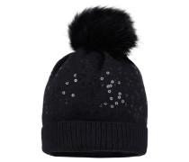 Mädchen Mütze, Schwarz