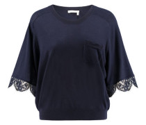 Damen Pullover, nachtblau