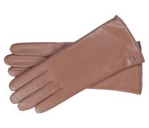 Damen Handschuhe aus Leder, rose