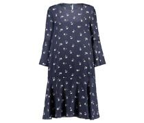 Damen Blusenkleid, Blau