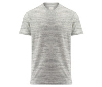 Herren Frottee-Shirt Kurzarm, grau