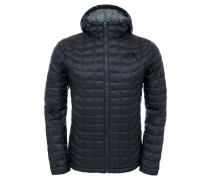 Herrren Outdoor-Steppjacke / Thermojacke mit Kapuze Thermoball Hoodie M, Grau