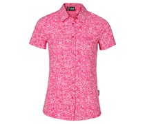 Jack Wolfskin: Damen Bluse Wahia Print Shirt, pink