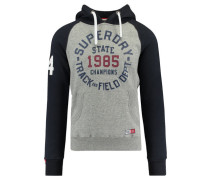 "Herren Sweatshirt ""Trackster Baseball Hood"", grau"