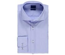 Joop: Herren Hemd L-Hanko Slim Fit Langarm, bleu