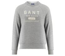 """Herren Sweatshirt """"Gant New Haven C-Neck Sweat"""", grau"""