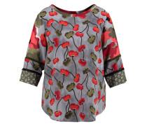 Damen Bluse Dreiviertel-Armlänge - Plus Size, druck 1