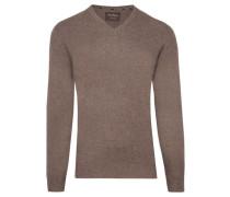 Herren Kaschmir-Pullover, braun