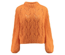 "Damen Pullover ""Faucher"", orange"