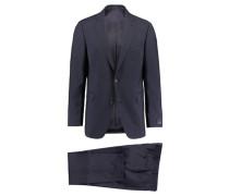 Herren Anzug Comfort Fit, Blau