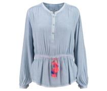 Damen Bluse Jenna Langarm, Blau