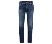Herren Jeans Two Mario Stretch Slim Fit, Blau