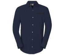 Jack Wolfskin: Herren Hemd Rays Flex Shirt, nachtblau