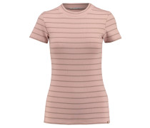 Damen T-Shirt Striped