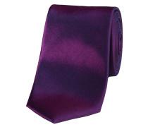 """Herren Krawatte aus Seide """"schmal"""" 6 cm, bordeaux"""