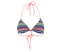 Damen Triangel-Bikini Oberteil, Druck3