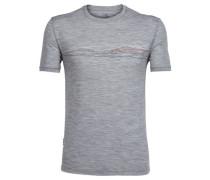 "Herren T-Shirt ""Tech Lite Short Sleeve Crewe"", grau"