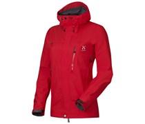 Haglöfs: Damen Bergsportjacke / Trekkingjacke Helio Jacket Women, rot