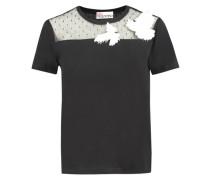 Damen T-Shirt, schwarz