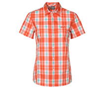 Jack Wolfskin: Damen Outdoorbluse Aoraki Shirt, orange