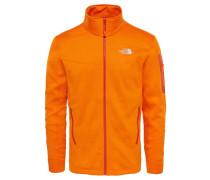 Herren Fleecejacke M Hadoken Full Zip Jacket, Orange