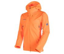 "Herren Softshelljacke mit Kapuze ""Ultimate Eisfeld SO Hooded Jacket Men"", orange"