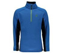 Herren Fleecepullover Outbound, Blau