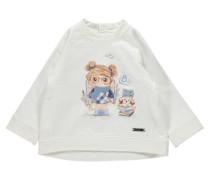 Mädchen Baby Sweatshirt, Weiß