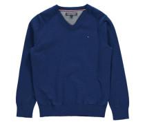 Jungen Pullover Tommy Sweater, Blau