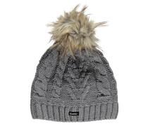 Damen Mütze / Strickmütze Lina Lux Crystal