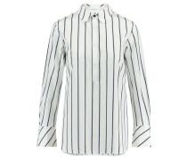 Damen Bluse Sally Langarm, Weiß