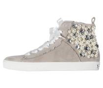 Damen Mid-Cut Sneakers, Grau