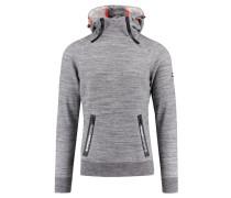 """Herren Sweatshirt """"Gym Tech Double Ziphood"""", grau"""
