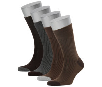 NAPAPIJRI Herren Socken Zibes Box im Viererpack, multicolor