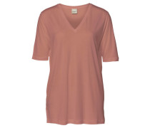 Damen T-Shirt, koralle