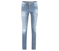 Damen Boyfriendjeans, blue