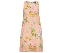 "Leinenkleid ""Peachy Flower Dress"""