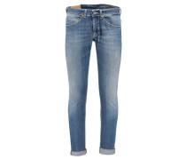 Herren Jeans George Skinny Fit, Blau