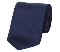 Herren Krawatte aus Seide, marine