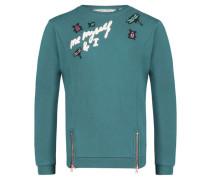 Mädchen Sweatshirt, smaragd