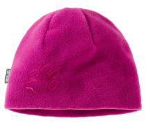 Kinder Fleece-Mütze, Rot